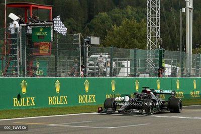 Lewis Hamilton gana el GP de Bélgica de Fórmula 1