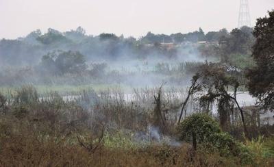 HOY / Siguen quemando impunemente en la zona de la Costanera