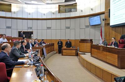 Directores interinos de ITAIPU expusieron objetivos de gestión ante comisiones del Senado