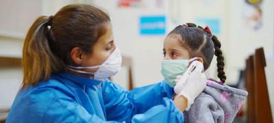 Los niños sin síntomas pueden transmitir coronavirus durante semanas