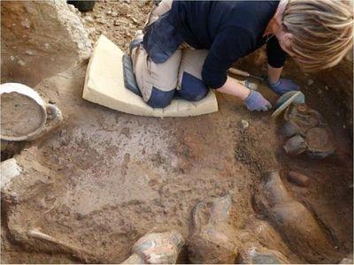 Descubren una construcción inusual del período neolítico