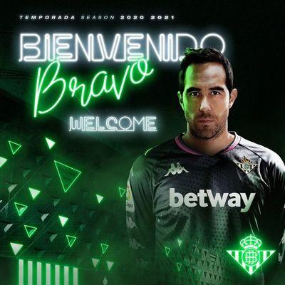Claudio Bravo, nuevo jugador del Betis