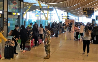 Más compatriotas arribarán al país provenientes de España