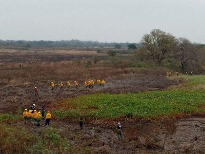 Extinguen focos de incendio en Asunción y Bajo Chaco