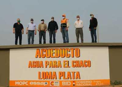 80 mil pobladores del Chaco comienzan a recibir agua potable