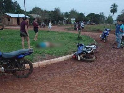 Adolescente de 15 años muere por caída de una moto en Ñacunday