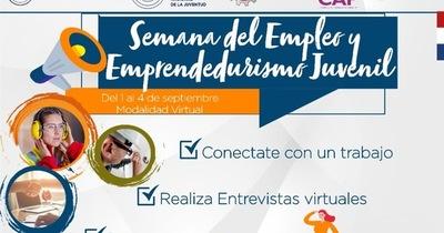 """MTESS organiza """"Semana del Empleo y el Emprendedurismo Juvenil """""""