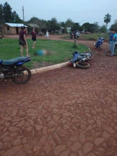 Adolescente de 15 años muere tras caída de una moto en Ñacunday