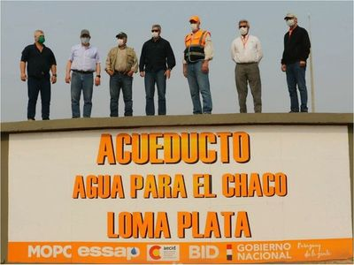 Se inaugura hoy el  anhelado acueducto en el Chaco Central