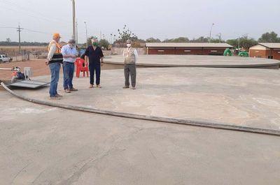 Carga fluida de los reservorios del acueducto ubicados en Loma Plata
