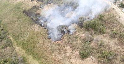 Pescan infraganti a personas provocando incendios en zonas periféricas de Asunción