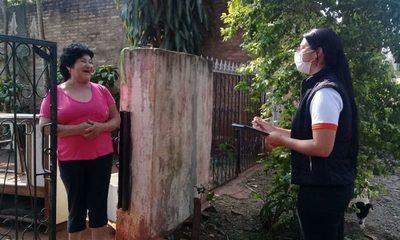 Profesionales de Salud visitan barrios para relevar datos sobre Coronavirus – Diario TNPRESS