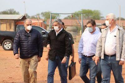 Incendios provocados: Mario Abdo solicitará intervención fiscal y policial contra irresponsables