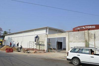 Villa Elisa: Pabellón de contingencia fue construido con royalties y fondos genuinos del Municipio
