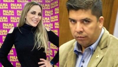 Carlos Portillo insinuó que Clara Franco mintió