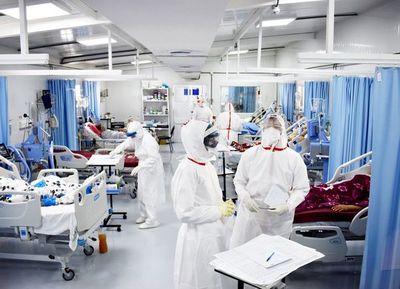COVID-19: 5% del personal sanitario fue afectado por el virus