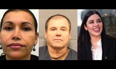 """El Chapo Guzmán estaba casado con una mujer, pero """"vivía con otra"""""""