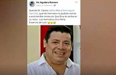 El primer médico fallecido por COVID-19 en Alto Paraná