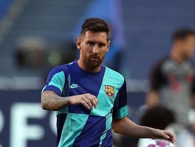 Messi no se presenta al entrenamiento de Barcelona