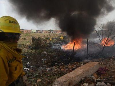 Incendio de gran magnitud afectó al Bañado Sur