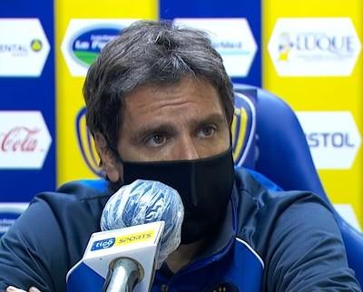 Rodrigo López, mal por el resultado, pero satisfecho con el rendimiento