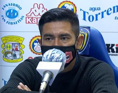 Cristian Martínez elogia el trabajo de sus jugadores