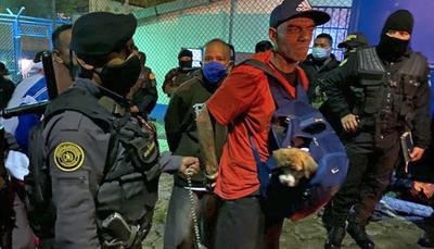 Pandilleros retienen a 10 guardias en cárcel de Guatemala debido a traslados