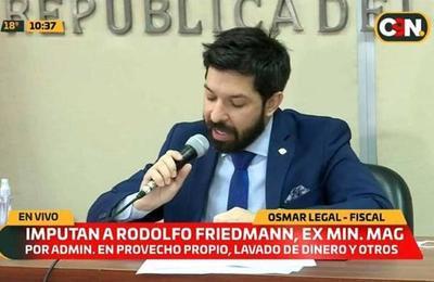 Ministerio Público brinda detalles sobre la imputación de Rodolfo Friedmann, su esposa y otras 4 personas
