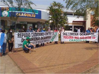 Desprolija comunicación sobre distribución de camas UTI generó manifestación en Caaguazú