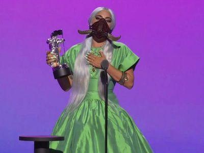 Los 5 premios de Lady Gaga y sus mascarillas protagonizan los VMA