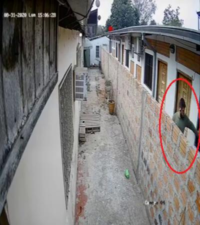 Ladrón se llevó pertenencias de una contadora en San Lorenzo