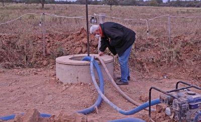 Para el fin de semana llegaría agua a Loma Plata a través de acueducto