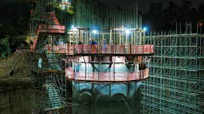Con turnos de 24 horas avanza construcción del Puente de la Integración Paraguay-Brasil