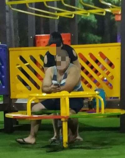 Piden que adultos no utilicen parques infantiles en Presidente Franco