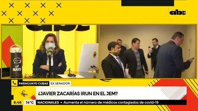 Javier Zacarías Irún no puede tratar un caso referente a él, según Payo Cubas
