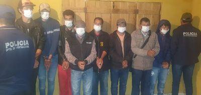 Diez personas fueron detenidas por muerte de agricultor en colonia Barbero