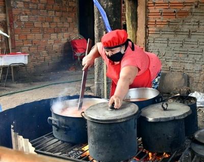 Ollas populares de Alto Paraná recibieron más de 1.800.000 kg de víveres para alimentar a unas 222.000 personas