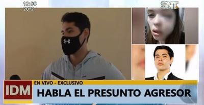 """""""Reaccioné con un golpe a mano abierta"""", afirma denunciado por violencia"""