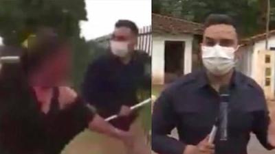 HOY / Trozan a periodista y C9N por exponer a mujer atacada y ensangrentada