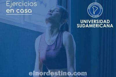 Practicando ejercicios en casa tu mente desconectará del exceso de información negativa y conseguirás reducir la ansiedad