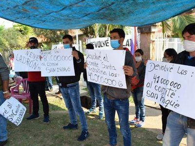 Pobladores exigen que Fiscalía impute al intendente de Independencia