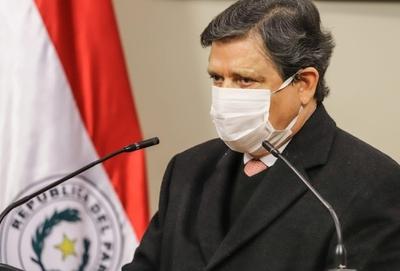 COVID-19: Ministro del Interior evoluciona favorablemente