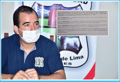 Santa Rosa; insisten desde el Municipio al cumplimiento estricto de las medidas sanitarias