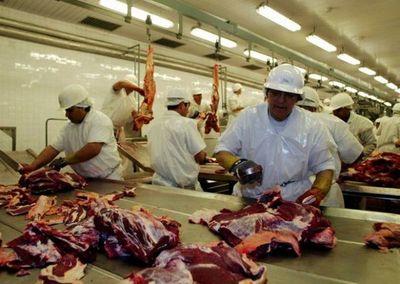 Exportación de carne en ritmo creciente