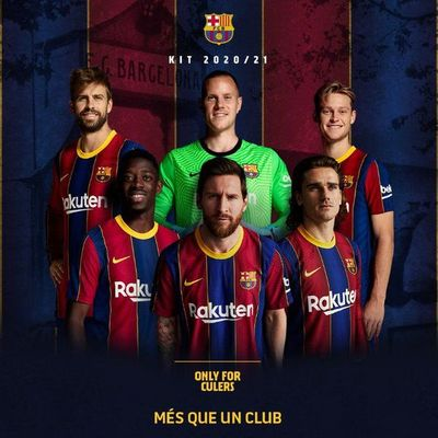 ¡Messi está en la promoción de la nueva camiseta del Barcelona!