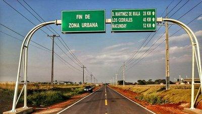 Pavimentación en zona Sur de Alto Paraná, a punto de terminar