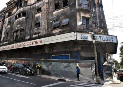 El ex Cine Victoria se encuentra en pleno proceso de restauración