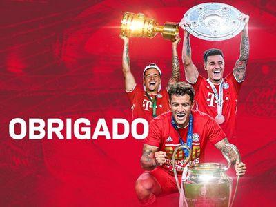 El Bayern se despide formalmente de Coutinho y agradece sus servicios