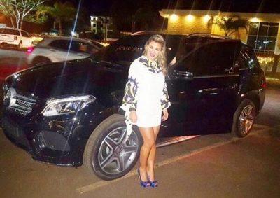 Juez ordena secuestro del Mercedes de Marly