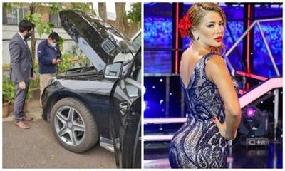 Fiscalía incautó la camioneta de Marly Figueredo